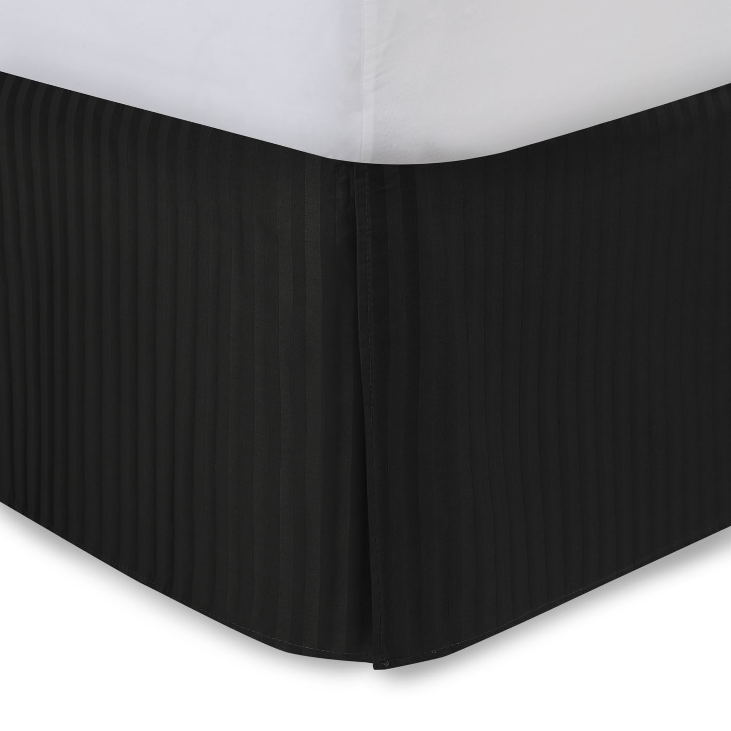 Tailored Bedskirt Sateen Stripe by ShopBedding.com