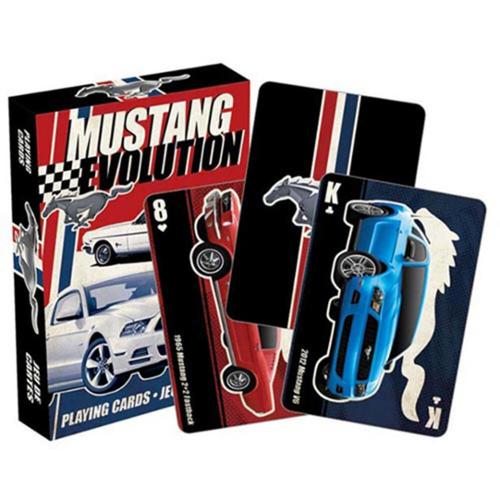 Aquarius Ford Mustang Playing Cards Collectible Game
