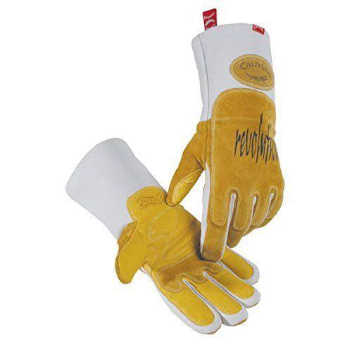 """CAIMAN Welding Gloves,MIG/Stick,13-1/2"""",XL,PR 1812-6"""