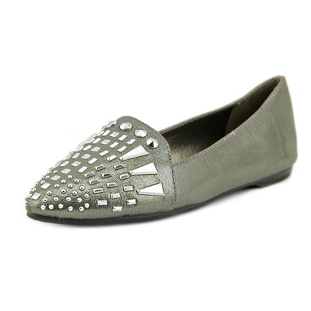 Carlos By Carlos Santana Shauna   Pointed Toe Canvas  Flats
