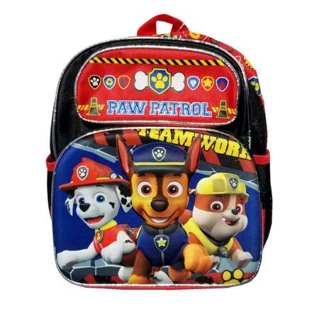 ruz paw patrol boys 12 small back pack. Black Bedroom Furniture Sets. Home Design Ideas