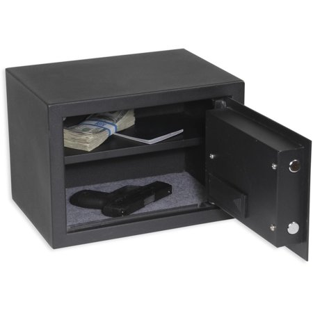 Bulldog Cases Medium Digital Pistol Vault W/ Shelf 12