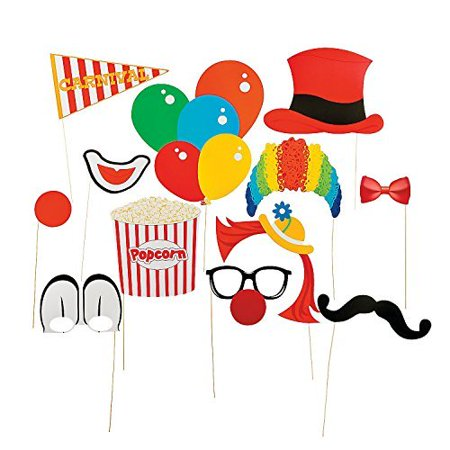 Photo Prop Sticks (Paper Carnival Photo Booth Stick)