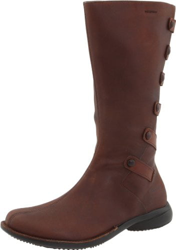 Merrell Women's Tetra Launch Waterproof Boot,Cherry Brown,5.5 M US by