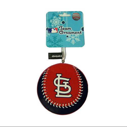 St. Louis Cardinals Official MLB 4 inch  Foam Christmas Ball Ornament by Forever Collectibles