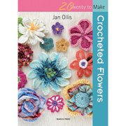 Search Press Books 20 To Make - Crocheted Flowers