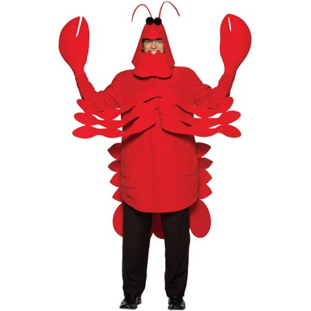 Lobster Adult Halloween Costume](Lobster Costumes)