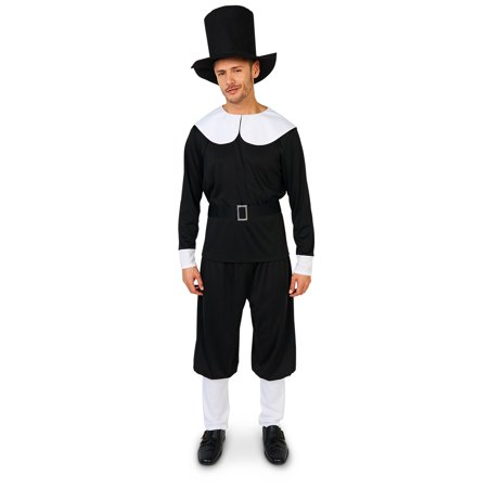 Plymouth Pilgrim Male Adult Costume (Dog Pilgrim Costume)