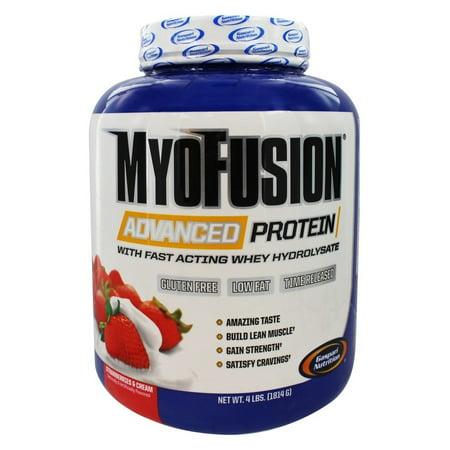 Gaspari Nutrition - MyoFusion Advanced Protein Strawberries & Cream - 4 - Myofusion Strawberry