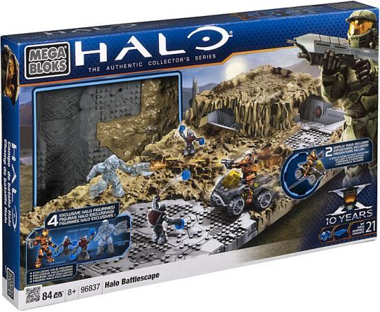 Mega Bloks Halo The Authentic Collectors Series Halo Battlescape Set #96837 by Mega Brands