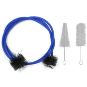 Musical Instruments Trumpet Maintaining Cleaning Accessory Brush Set 3pcs
