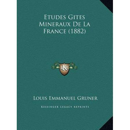 Etudes Gites Mineraux de La France (1882) ()