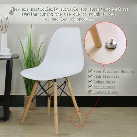 M8 x 12 x 37mm Leveling Feet Adjustable Leveler for House Table Sofa Leg 16pcs - image 6 of 7