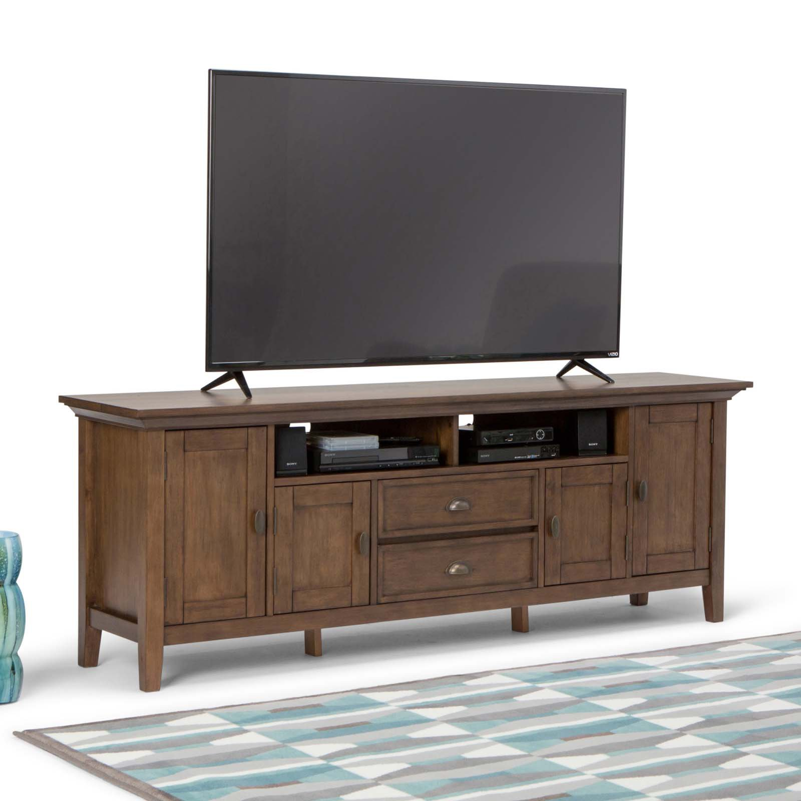 "Simpli Home Redmond 72"" TV Media Stand"