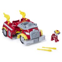 PAW Patrol, Mighty Pups Super PAWs Marshalls Powered Up Fire Truck Transforming Vehicle