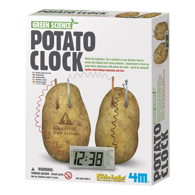 4M Green Science Potato Clock Kit, 1 Each