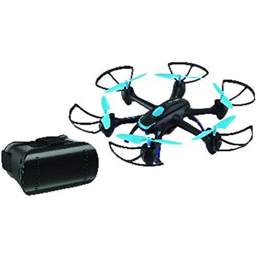 Skyrider Drw557bdlbu Night Hawk Hexacopter Drone With Wi fi Camera by SkyRider
