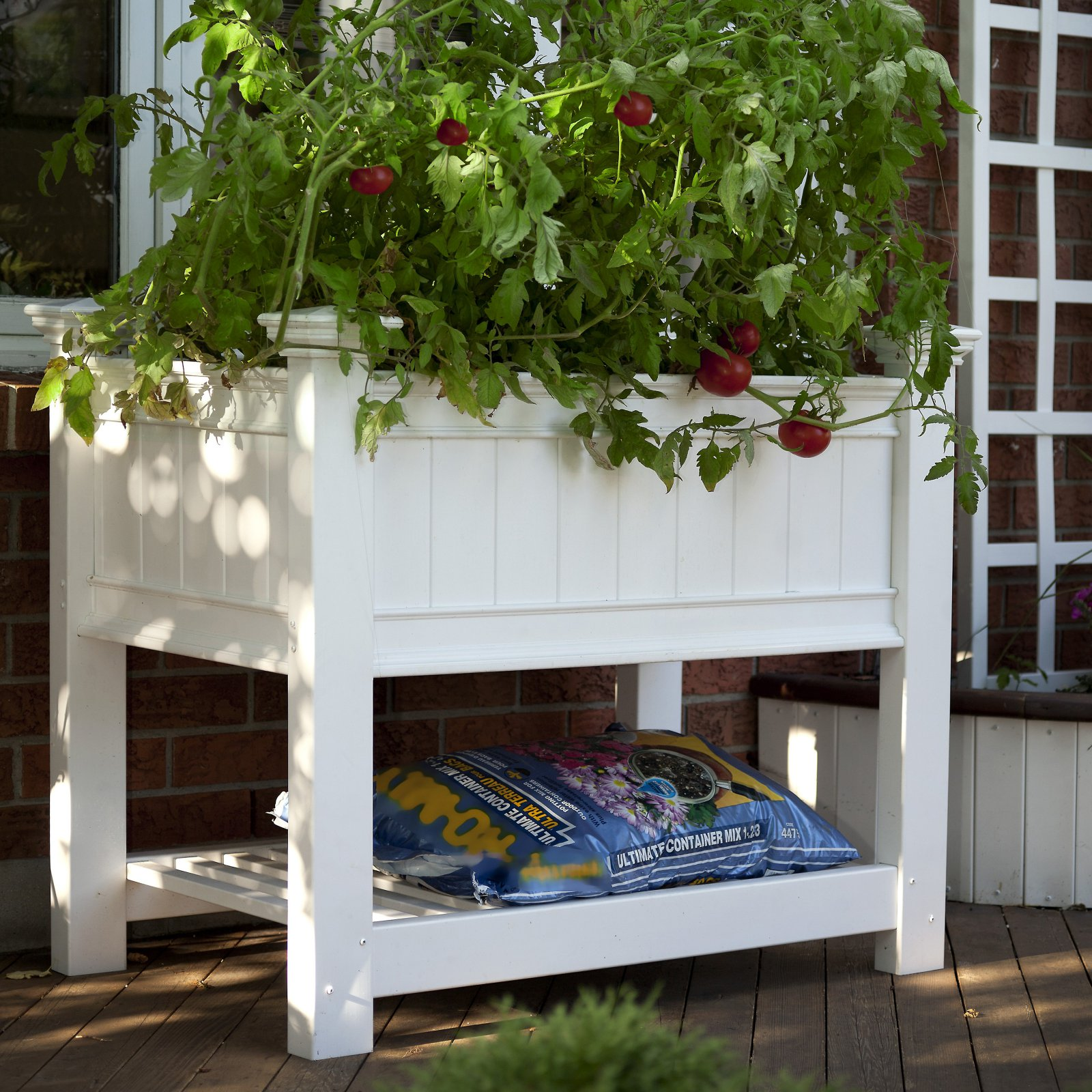 Cambridge Raised Planter by New England Arbors
