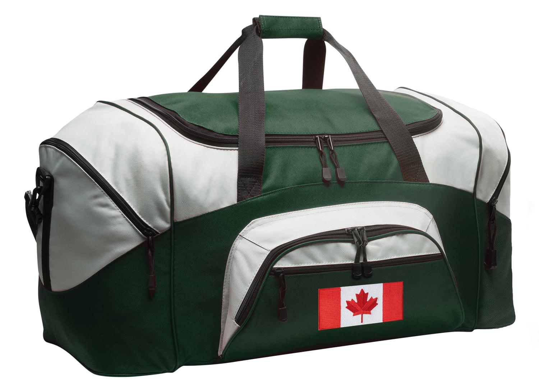 Canadian Flag Duffel Bag or Canada Flag Gym Bag