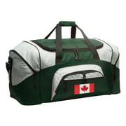 Broad Bay Canadian Flag Duffel Bag or Canada Flag Gym Bag