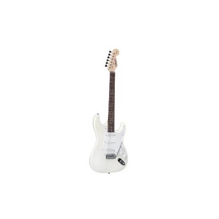 fender starcaster strat electric guitar white. Black Bedroom Furniture Sets. Home Design Ideas