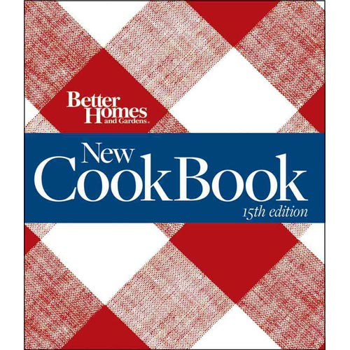 New Cook Book (Better Homes And Gardens,15th Edition)