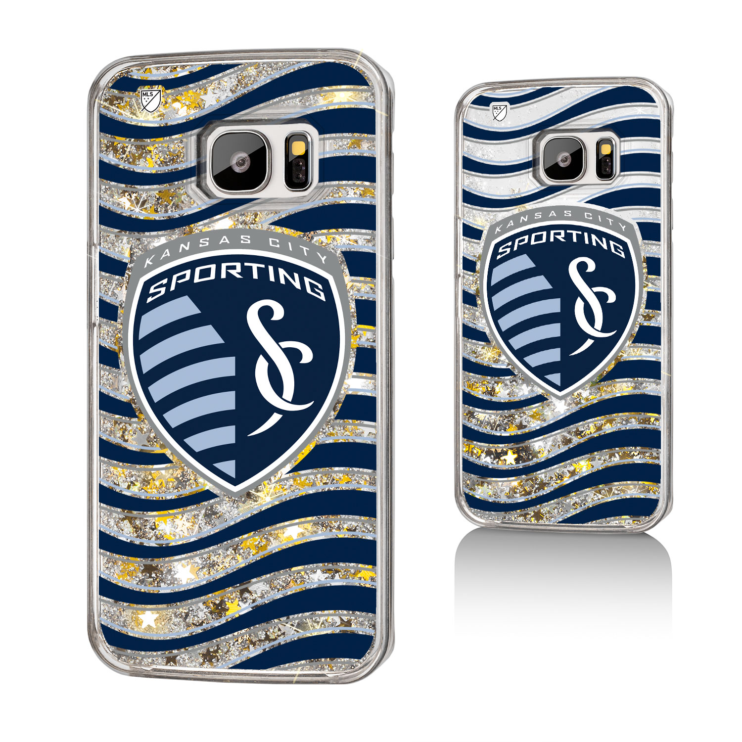 Sporting Kansas City SPORTING Wave Glitter Case for Galaxy S7