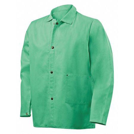 """Welding Jacket,M,30"""",Green STEINER 1030-M"""