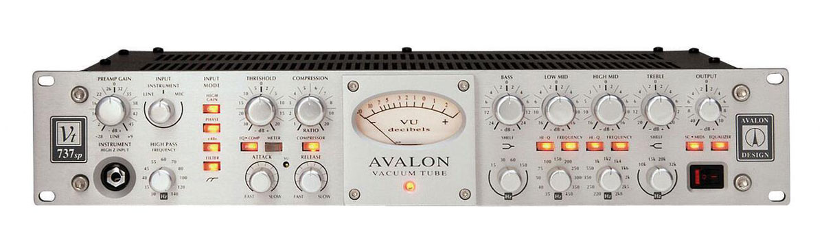 Avalon Design VT-737sp Tube Mic   Instrument Preamp Open Box by