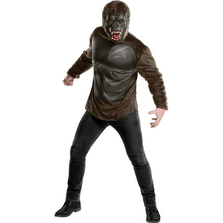 Mens King Kong Deluxe Costume