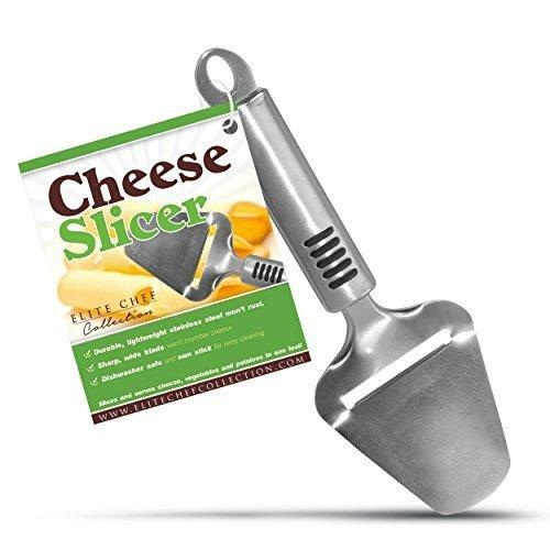 Elite Chef Cheese Cutter Slicer Never Sticks or Crumbles for a Perfect Slice