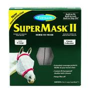 Farnam SuperMask II Classic Horse Fly Mask, X-Lrg, Assorted
