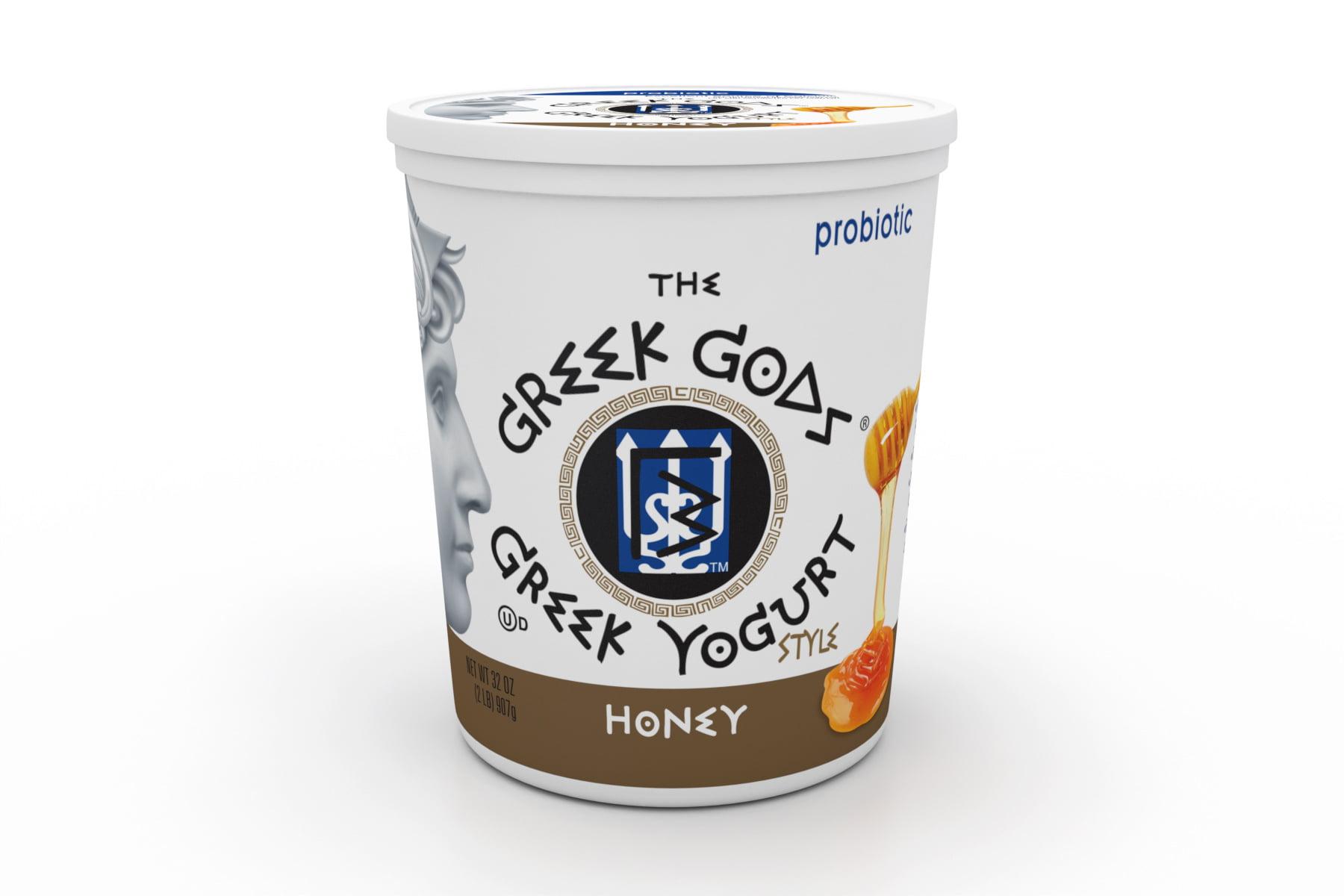 Greek Gods Honey Greek Yogurt, 32 oz  Tub