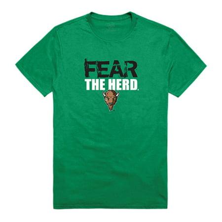 Marshall University Thundering Herd Fear Tee T-Shirt Kelly Medium
