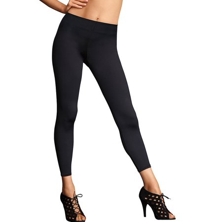ca932e965d Maidenform - Flexees Women s Maidenform Fat Free Dressing Legging Black  Medium M Black - Walmart.com