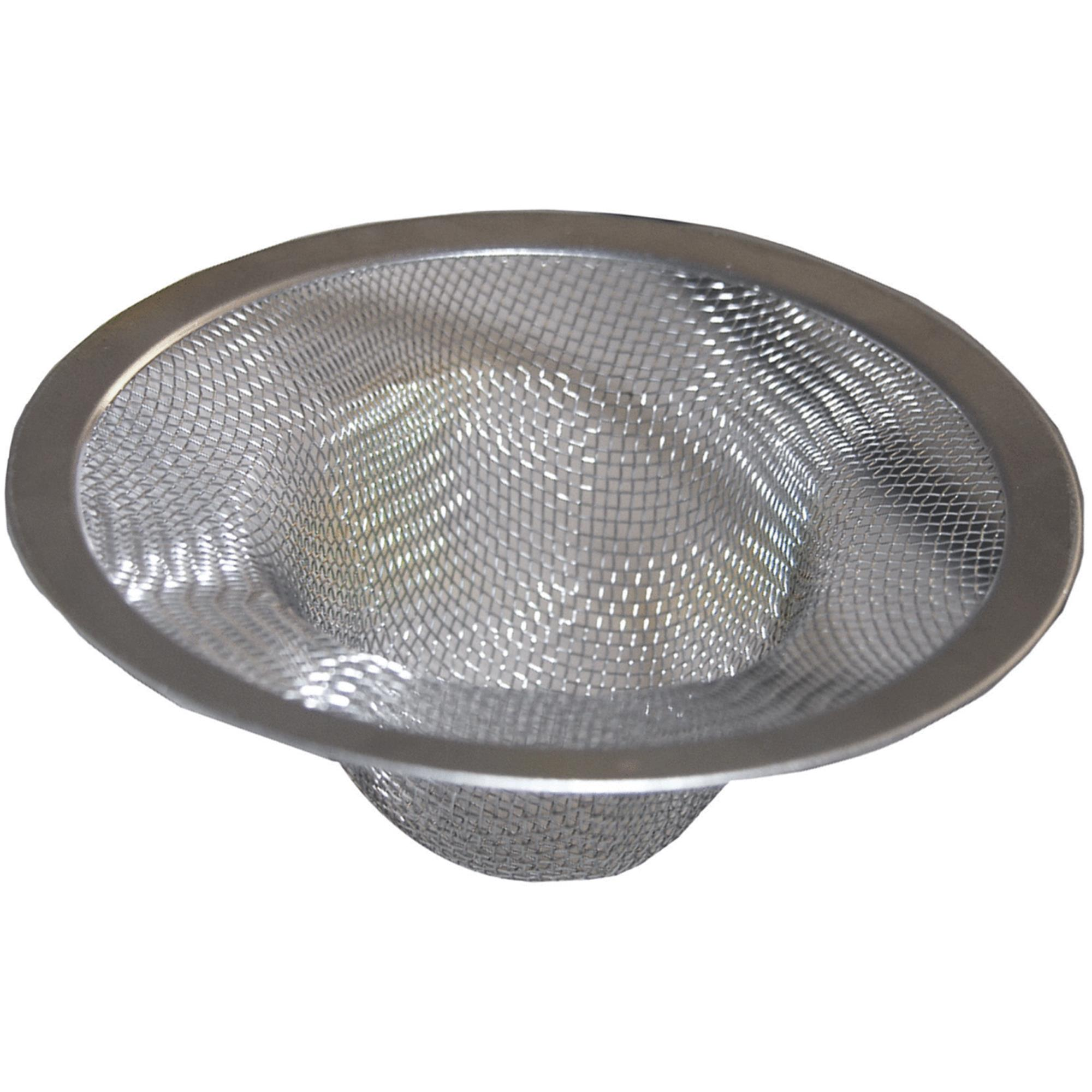 kitchen sink mesh strainer lasco mesh kitchen sink strainer cup walmart 5858