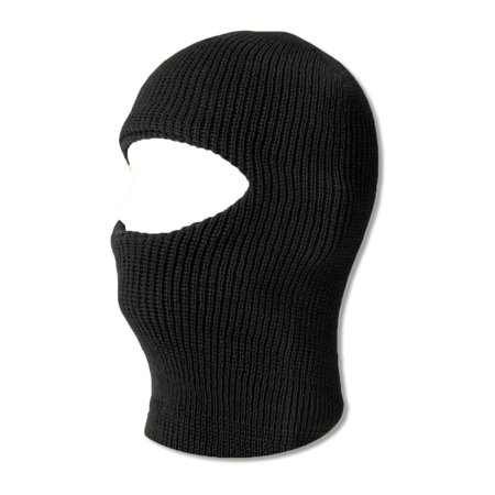 TopHeadwear One 1 Hole Ski Mask - Black](Joker Ski Mask)