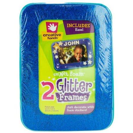 Bulk Buys Glitter Craft Frames - Case of 18 - Walmart.com