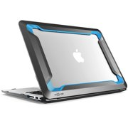 Macbook Air 13 Case, NexCase [Heavy Duty] [Dual Layer] Hard Case Cover with TPU Bumper for Apple Macbook Air 13 Inch (A1466 / A1369), Not Compatible 2018 MacBook Air 13 Inch (Blue)