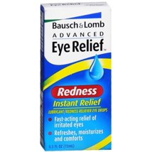 Eye Drops: Bausch + Lomb Advanced Eye Relief Redness