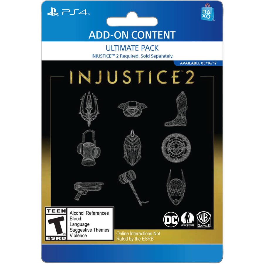 Image of Sony Injustice 2 Ultimate Pack (Email Delivery)