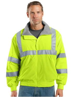 Port Authority Men's Water Resistant Work Jacket_Safety Orange/ Reflective_3XL