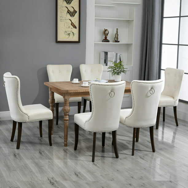 Tufted Upholstered Dining Chairs, Modern Dining Room Chairs
