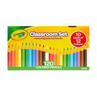 Crayola Classroom Set Colored Pencils (120-Count Pack)
