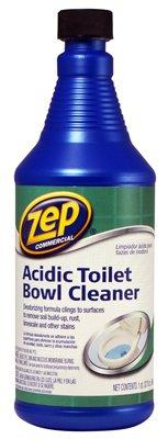 Zep Zuatb32 Commercial Acidic Toilet Bowl Cleaner 32