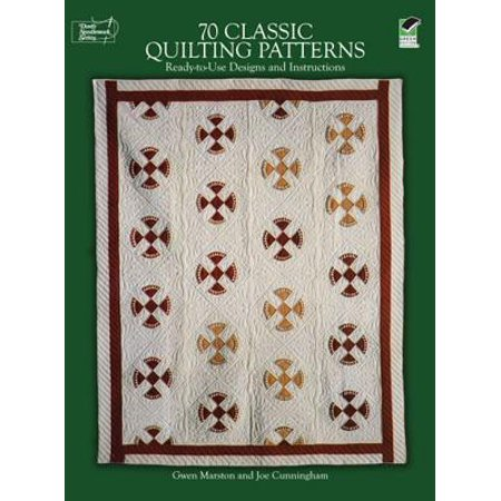 70 Classic Quilting Patterns - eBook