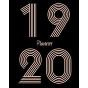 19 planner 20: Bold Numeric Large Daily Weekly Monthly Planner: July 2019 - June 2020 (Academic School Year, Student Planner) (Paperback)