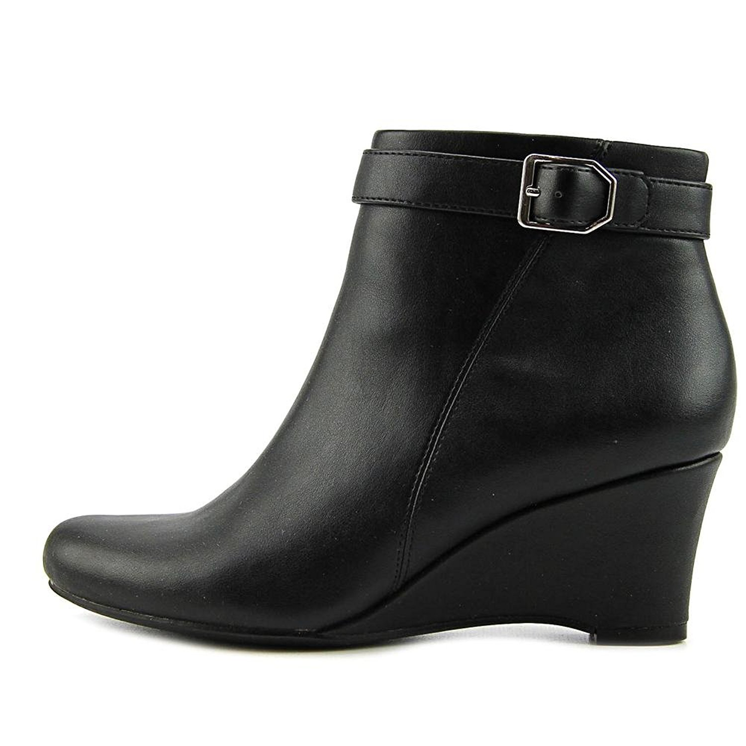 Naturalizer Womens Hurley Round Toe Ankle Platform Boots by Naturalizer