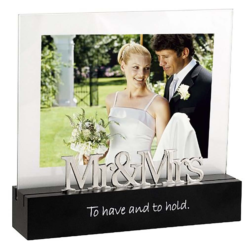 Malden Mr. & Mrs Desktop Expressions 5x7 Frame