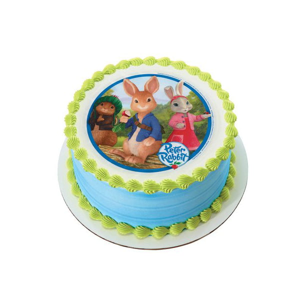 Peachy Peter Rabbit Edible Image Cake Topper Walmart Com Walmart Com Personalised Birthday Cards Epsylily Jamesorg